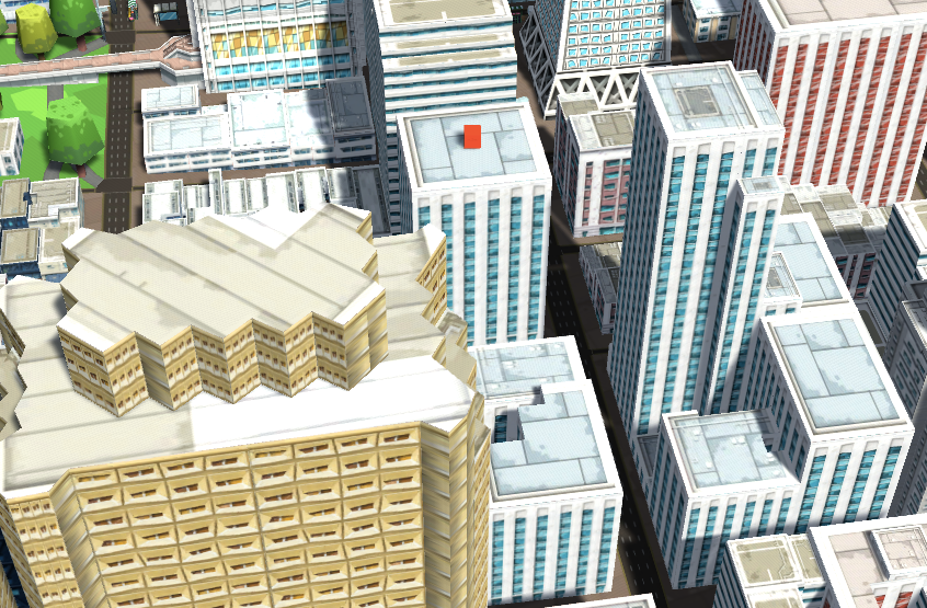 Selecting Buildings
